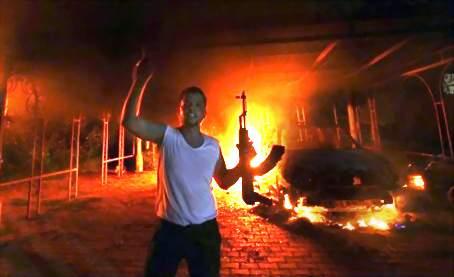Benghasin kostonkostajat tekemässä työtä käskettyä