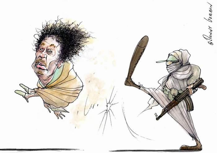Arutz Sheva. Kuvassa lienee Libyan demokraattiset 'vaalit'...