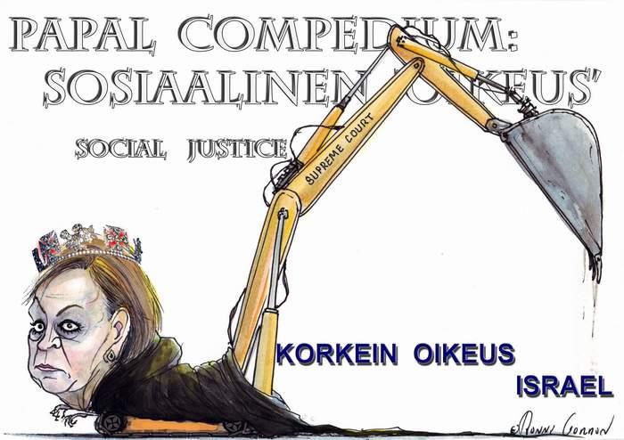 sosiaalinen oikeusmalli by Karl Marx. Vatikaanin Illuminaattilooshin perustajajäsen.