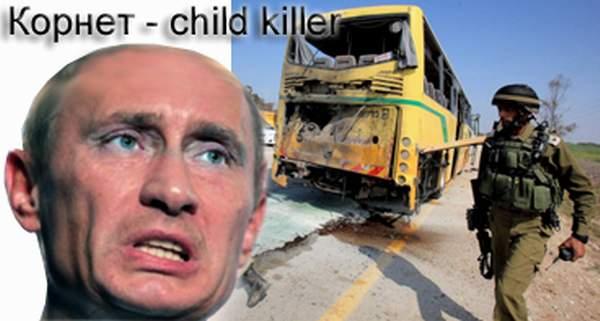 Kornetmie ja lasten bussi - murhapaikka.