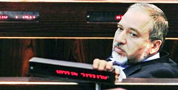 Knessetin kansanedustaja Lieberman