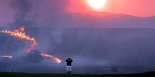 Arabi-Ilmaisuvapauteen kuuluu myös kylien tuhopoltot.